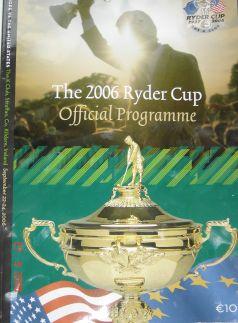 Ryder Cup Programme