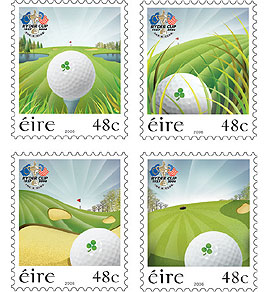 Ryder Cup Stamps